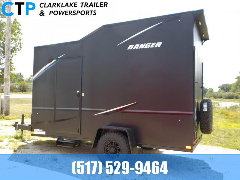 2021 Formula Ranger Black Out Enclosed Cargo Trailer