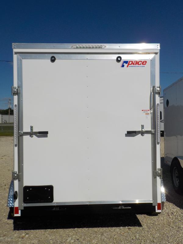 2021 Pace American Journey SE 6X12 Cargo Enclosed Cargo Trailer