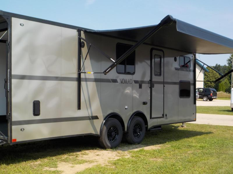 2020 Stealth Trailers Platinum Nomad DB 8.5X24 Package Toy Hauler RV