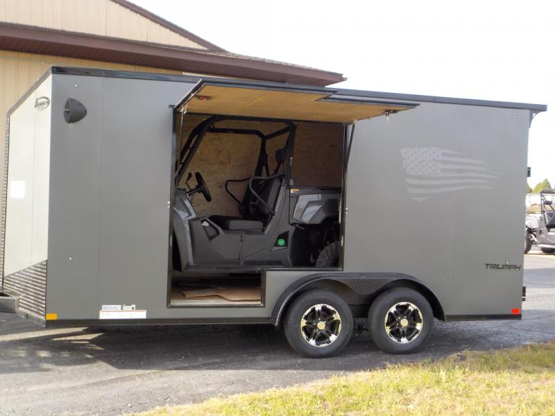 2021 Formula Trailers Triumph Blackout Enclosed Cargo Trailer