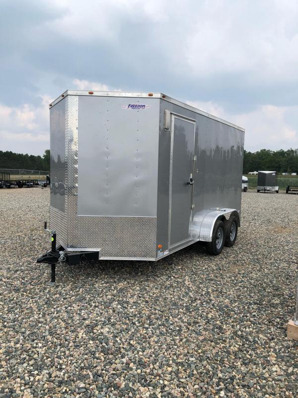 2021 Freedom Trailers 7x14TA2 Enclosed Cargo Trailer
