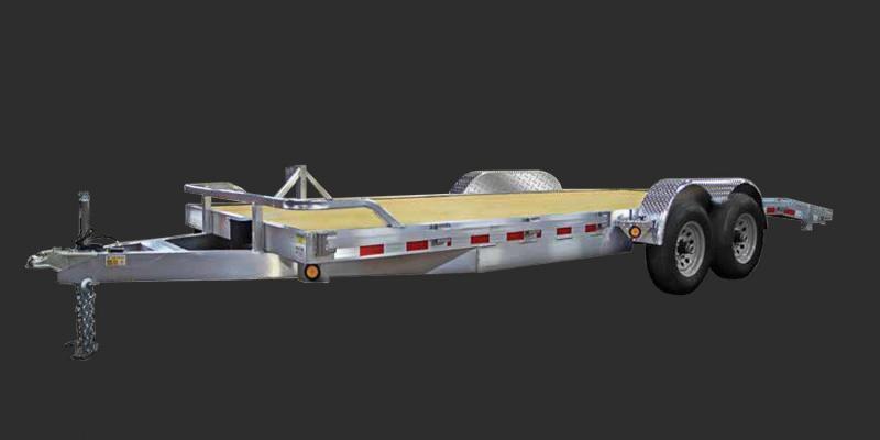 2022 Quality Steel and Aluminum 83x20 TA Alum 2/5.2K Car / Racing Trailer