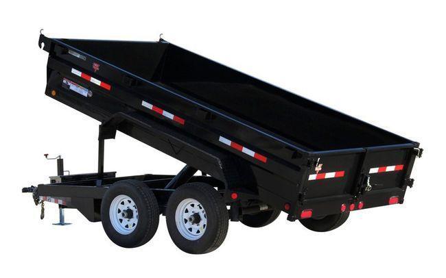 2022 PJ Trailers 72x12 TA 14K Dump Trailer