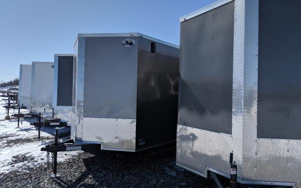 2020 Haulmark 6X10 Enclosed Trailer
