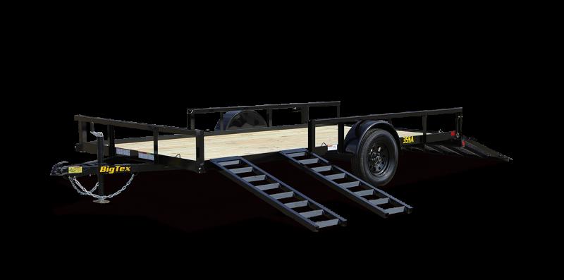2022 Big Tex Trailers 35SA-14BK 82x14 ATV  Utility Trailer