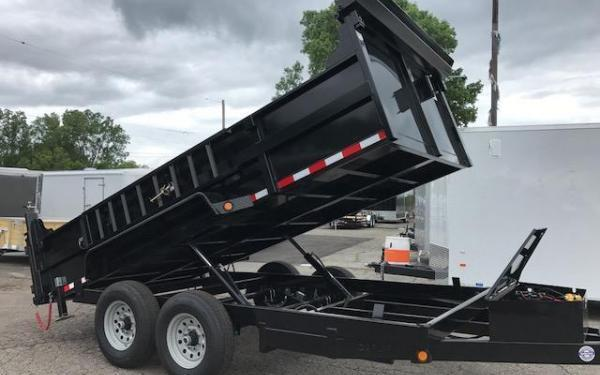 2019 Quality Steel and Aluminum 83x12 12K Dump Trailer