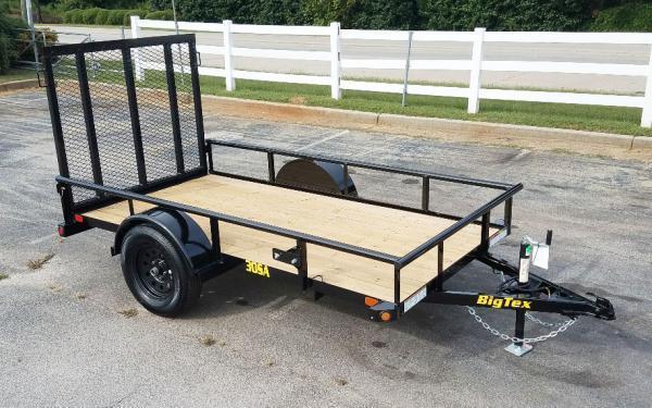 2020 Big Tex 30SA-08BK4RG Utility Trailer