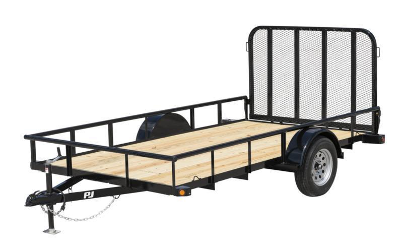 2022 Quality Steel and Aluminum 74x14 SA  Utility Trailer
