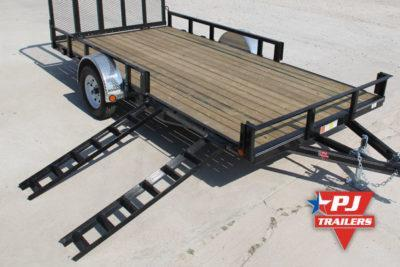 2020 Quality Steel and Aluminum Steel Utility 82 X 14 Utility Trailer
