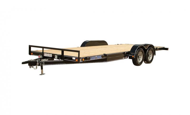 2022 Load Trail 83x24 TA 2/7K Car / Racing Trailer