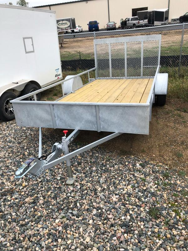 2022 S and H Trailers 80x14 SA 3.5K Utility Trailer