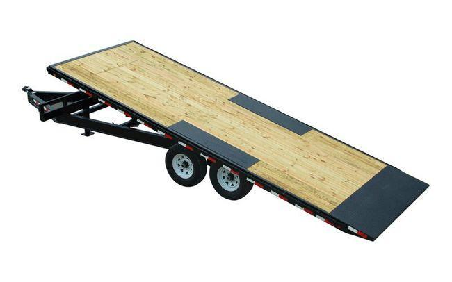 2022 PJ Trailers 102x24 TA 2/7K Deckover Tilt Equipment Trailer