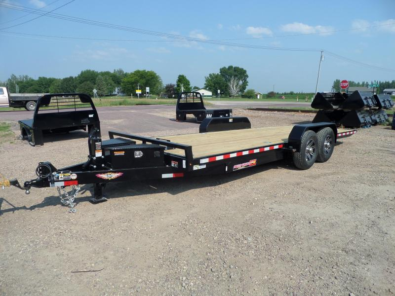 2021 H and H Trailer H8222EXL-140 Car / Racing Trailer