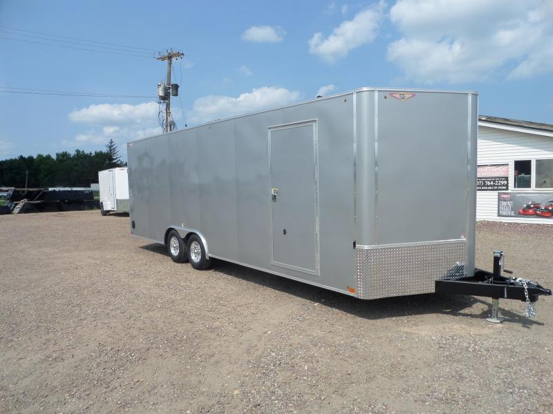 2021 H and H Trailer H10124FTCHV-100 Car / Racing Trailer