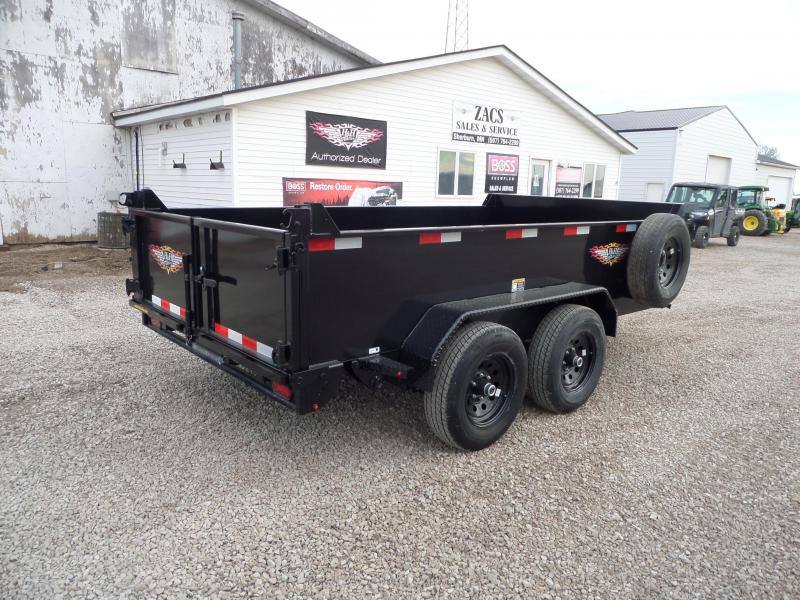 2022 H and H Trailer H7612UD-24-100 Dump Trailer
