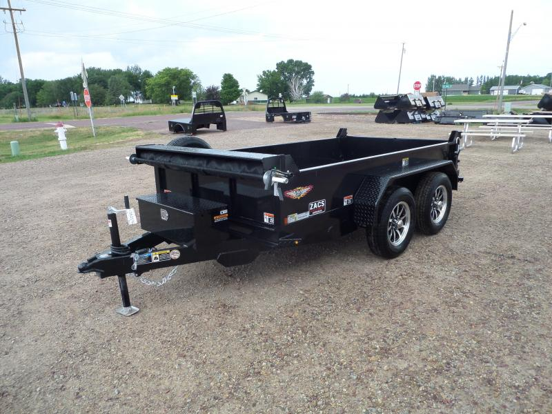 2021 H and H Trailer H6210UD-15-070 Dump Trailer