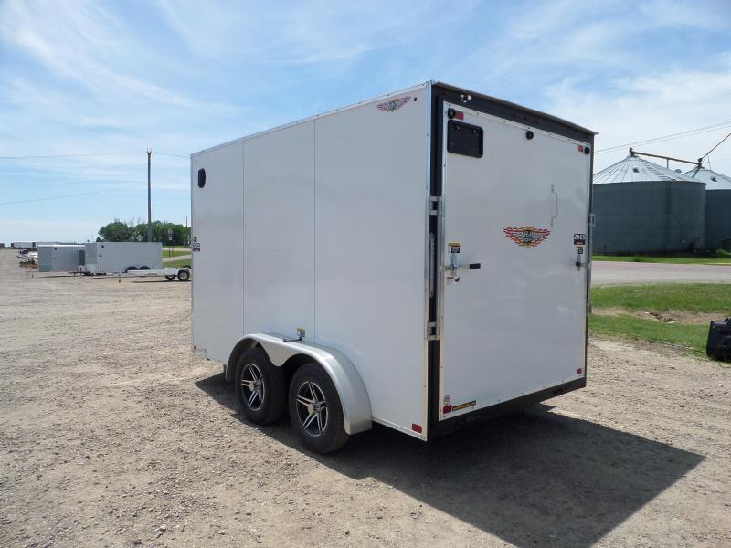 2021 H and H Trailer H8412TFTV-070 Cargo / Enclosed Trailer