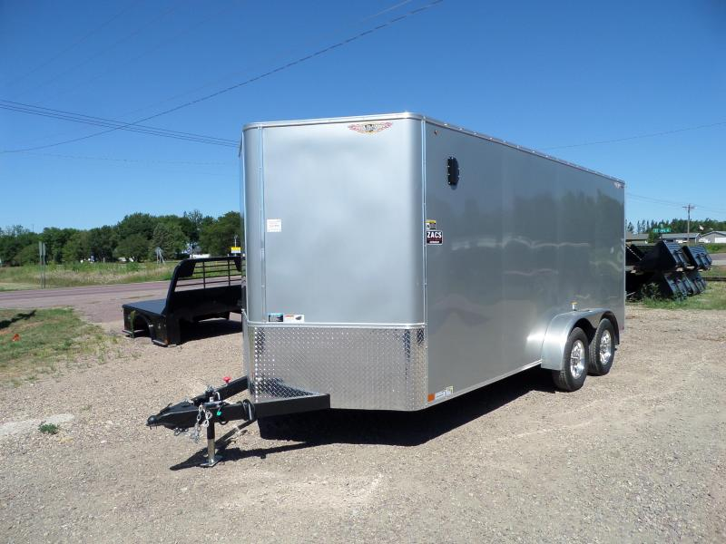 2022 H and H Trailer H8416TFTV-070 Cargo / Enclosed Trailer