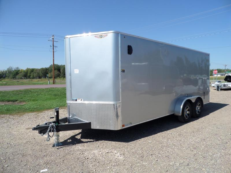 2022 H and H Trailer H8418TFTV-100 Cargo / Enclosed Trailer