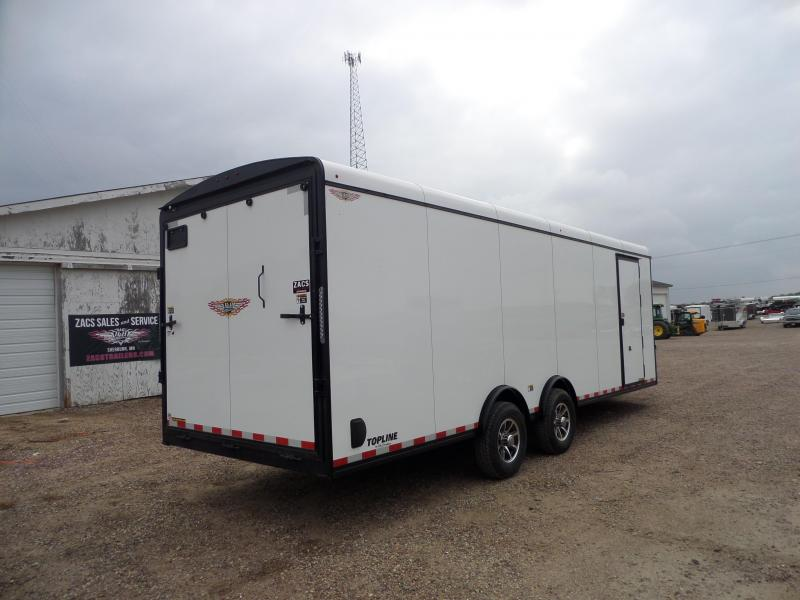 2022 H and H Trailer H9624TTV-140 Cargo / Enclosed Trailer