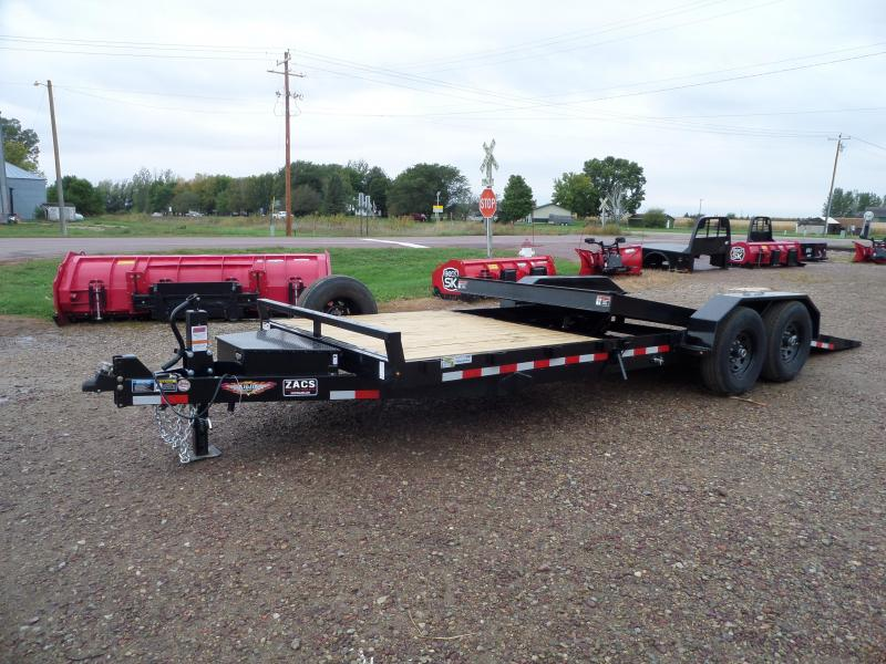2022 H and H Trailer H16+6GTL-140 Equipment Trailer
