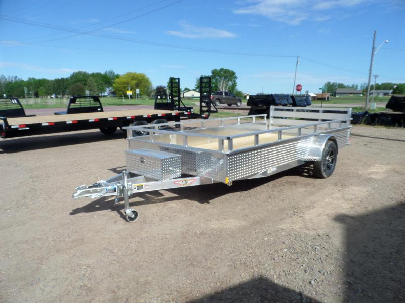 2021 H and H Trailer H8214SSA-030 Utility Trailer