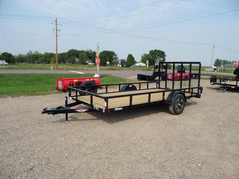 2022 H and H Trailer H8214RS-030 Utility Trailer