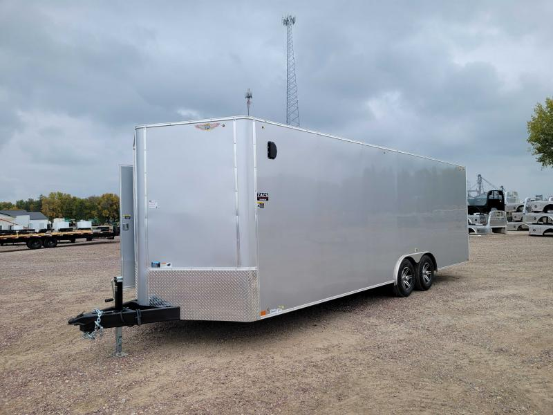 2022 H and H Trailer H10124TFCHV-100 Car / Racing Trailer