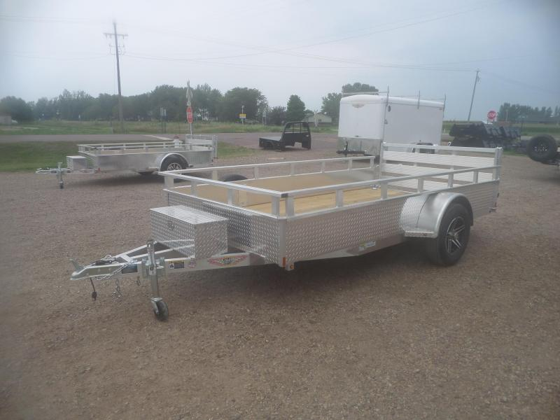 2021 H and H Trailer H7612SSA-030 Utility Trailer