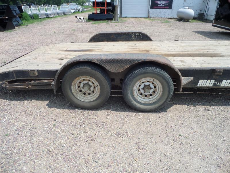 2001 Road Boss RB8216+2-100 Flatbed Trailer