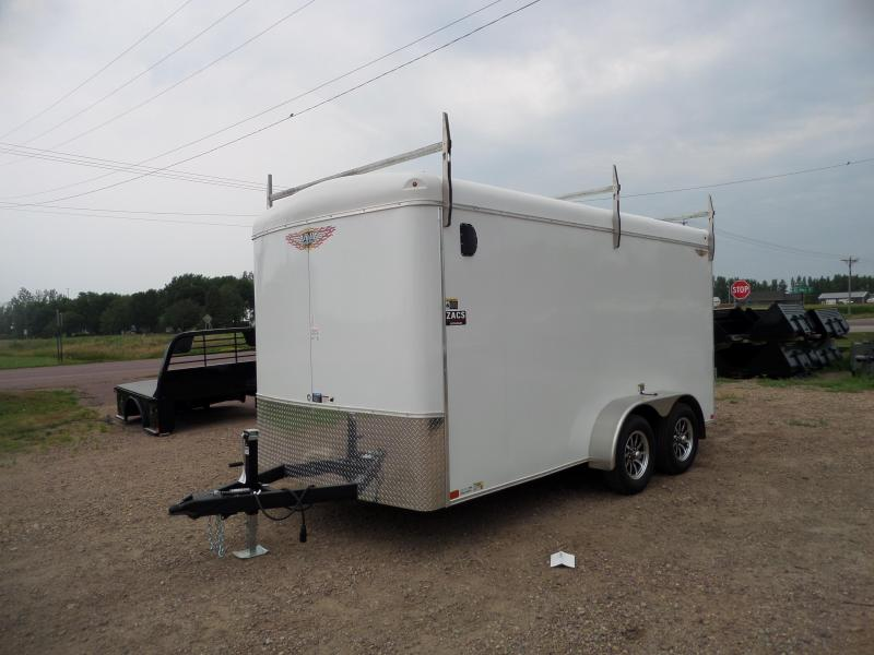 2021 H and H Trailer H8414TRT-070 Cargo / Enclosed Trailer