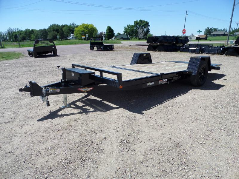 2021 H and H Trailer H7812+4GTL-078 Equipment Trailer
