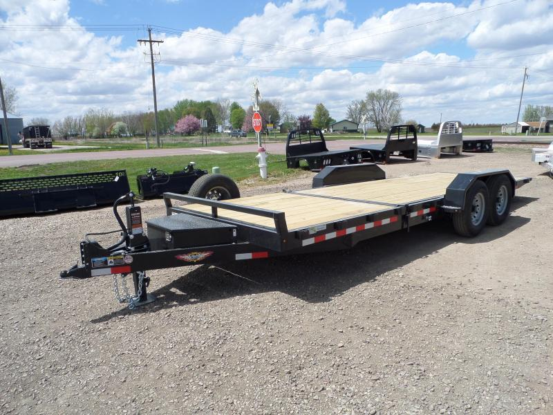 2021 H and H Trailer H16+6GTL-140 Equipment Trailer