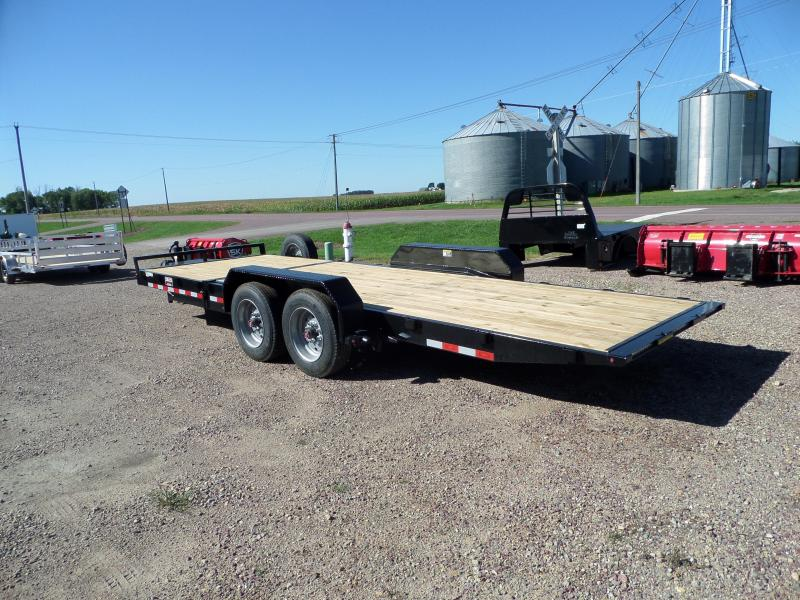 2021 H and H Trailer H16+6GTL-160 Equipment Trailer