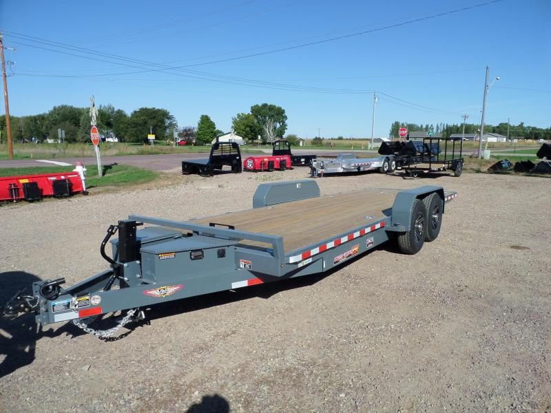 2022 H and H Trailer H8222EXL-140 Car / Racing Trailer