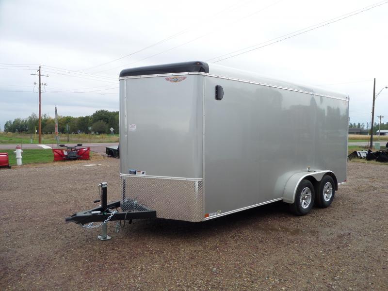 2022 H and H Trailer H8416TRTV-100 Cargo / Enclosed Trailer