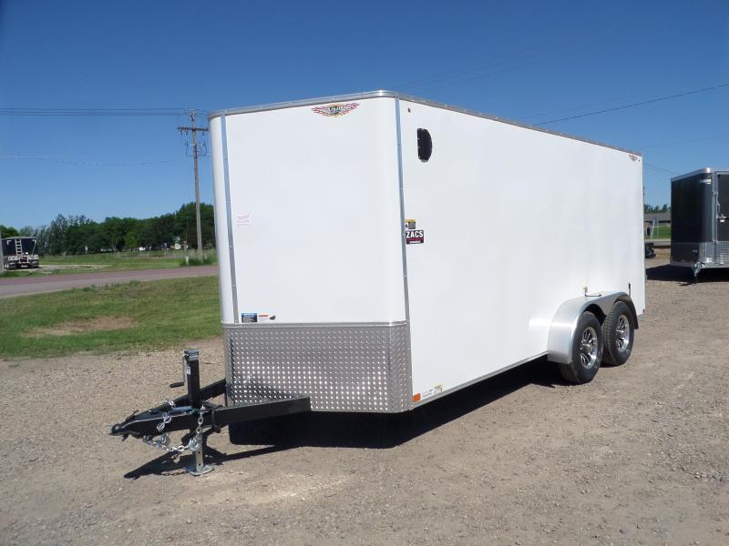 2021 H and H Trailer H8416TFTV-100 Cargo / Enclosed Trailer