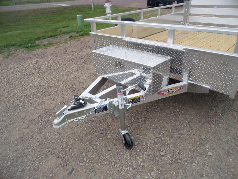 2021 H and H Trailer H7610SSA-030 Utility Trailer