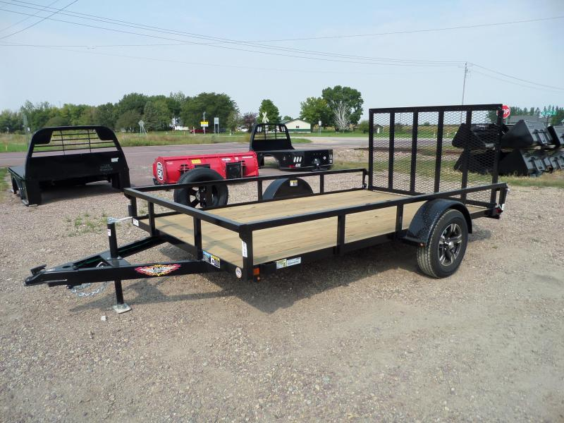 2022 H and H Trailer H8212RS-030 Utility Trailer