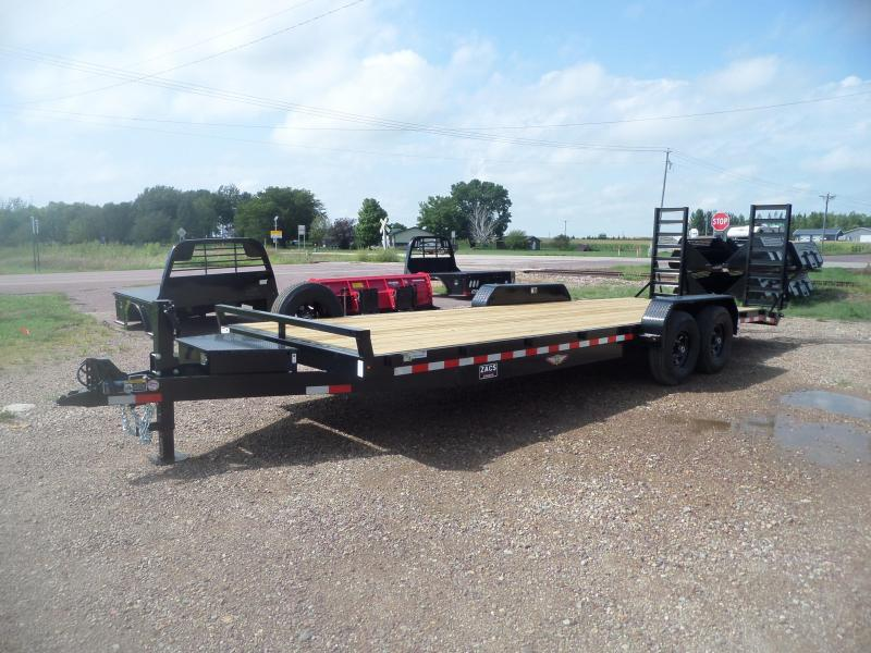 2022 H and H Trailer H8224IL-140 Flatbed Trailer