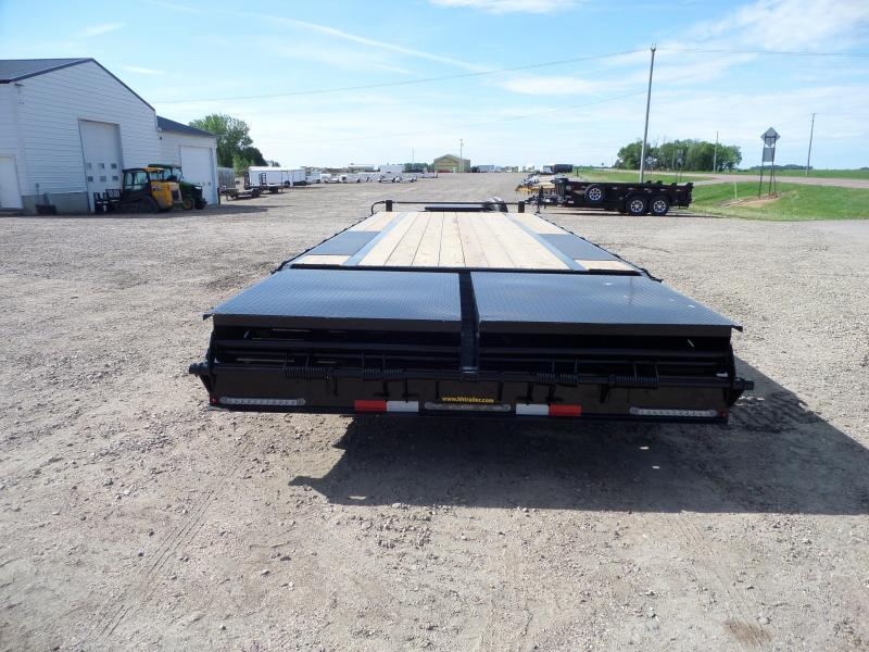 2021 H and H Trailer H20+5SDBCL-B14-140 Flatbed Trailer