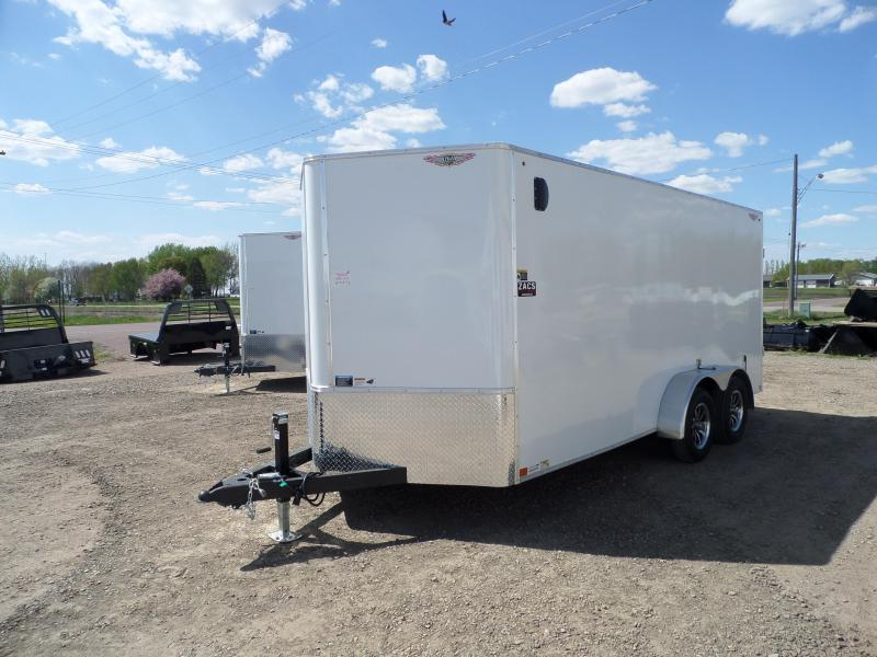 2021 H and H Trailer H8416TFTV-070 Cargo / Enclosed Trailer