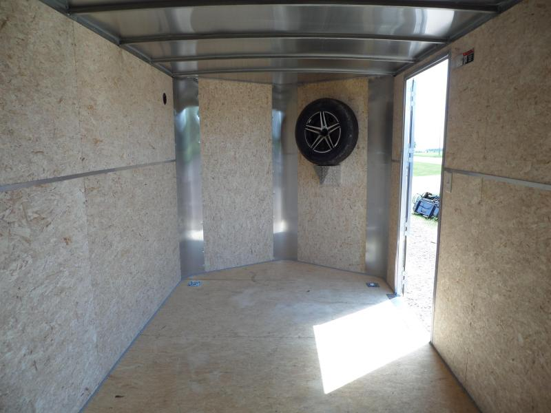2021 H and H Trailer H8414TFTV-070 Cargo / Enclosed Trailer