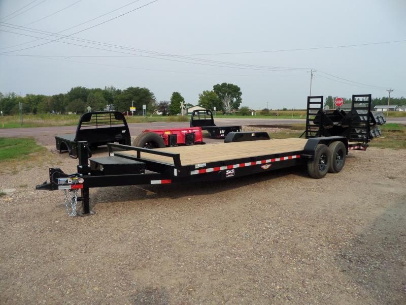 2021 H and H Trailer H8224IL-140 Flatbed Trailer