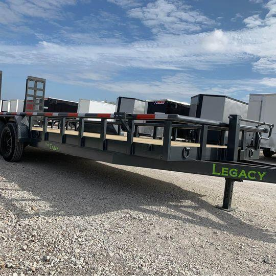 "2021 Legacy EQUIPMENT  TRAILER 83X24 14K "" THE TANK"" Equipment Trailer"