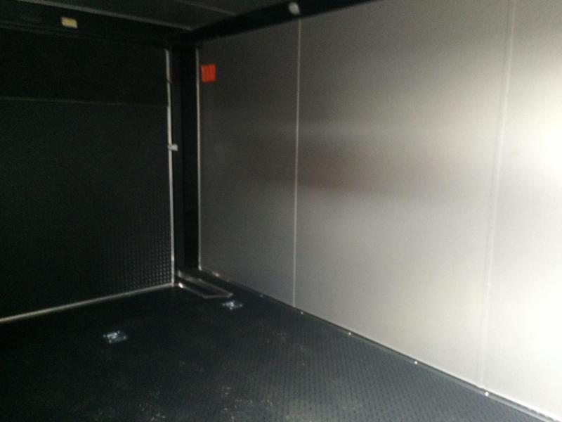 Continental Cargo 7x14+ 3  7 FT  INTERIOR CHROME  motorcycle trailer Enclosed  Motorcycle Trailer