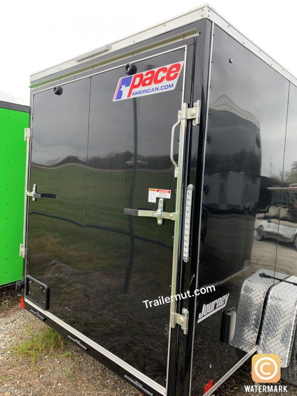 ENCLOSED TRAILER 6X12 + 2 v nose  Pace  interior Cargo / Enclosed Trailer
