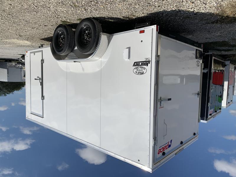 2021 Look Trailers Enclosed Trailer 7x16 5200 lb axles 7 ft Double door Cargo / Enclosed Trailer