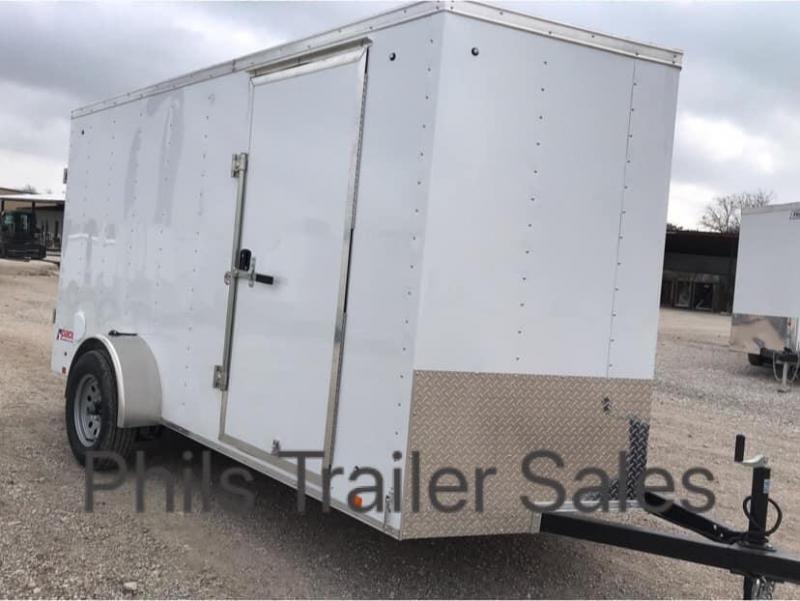 2022 Pace American 5x10 Enclosed Trailer side door RAMP Enclosed Cargo Trailer
