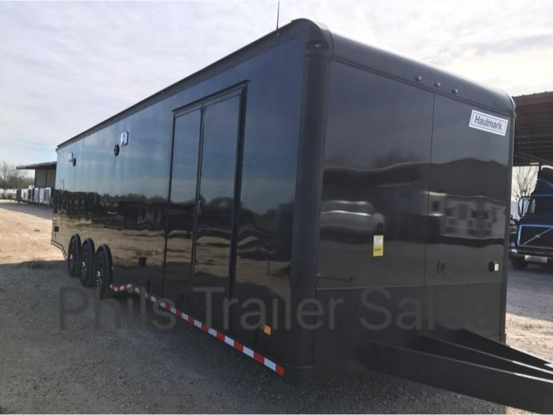 32' Haulmark EDGE Car / Racing Trailer LOADED